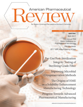 American Pharmaceutical Review's  July/August 2017 Issue