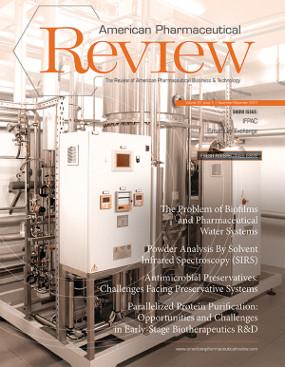 American Pharmaceutical Review's  November/December 2017 Issue