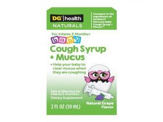 Kingston Pharma RECALLS DG™/Health NATURALS Baby Cough Syrup + Mucus