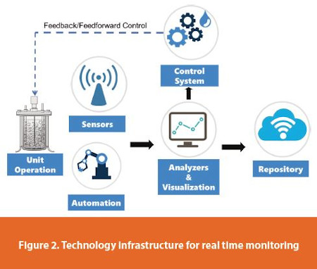 Technology infrastructure for real time monitoring