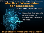 Medical Wearables for Biosensors USA Conference 2021